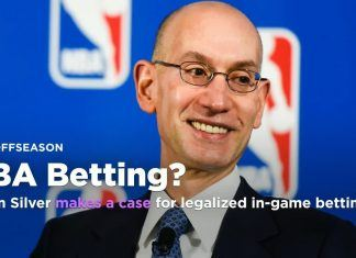 adam silver optimistic about legalized sports betting 2017 images