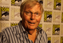 adam west gets honored at comic con 2017 images