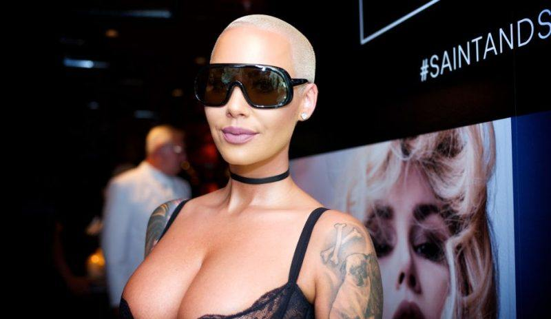 amber rose talks bush
