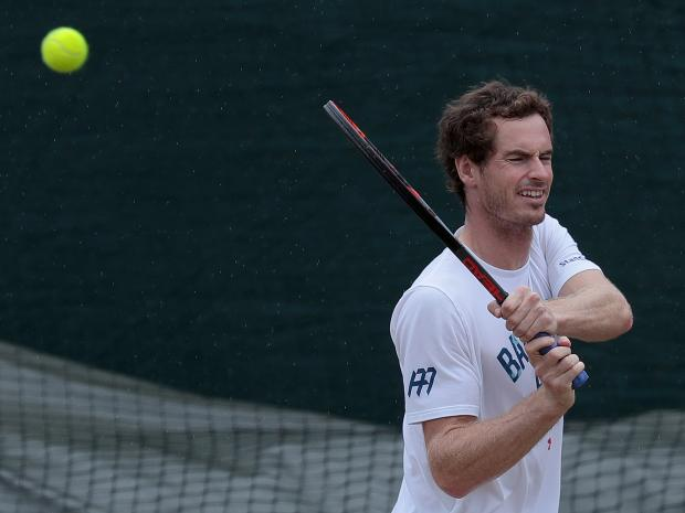 andy murray hip injury gives saqm querrey wimbledon edge