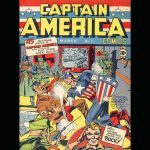 captain american comics 1 value high