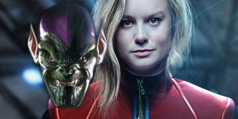 captain marvel set in 1990s wiht skrulls