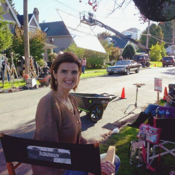 carrie genzel on supernatural set movie tv tech geeks