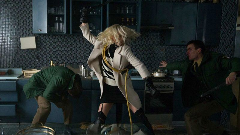 charlize theron kicks up some brutal bloody action for atomic blonde trailer 2017 images