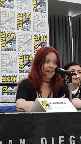 comic con 2017 janina scarlet movie tv tech geeks