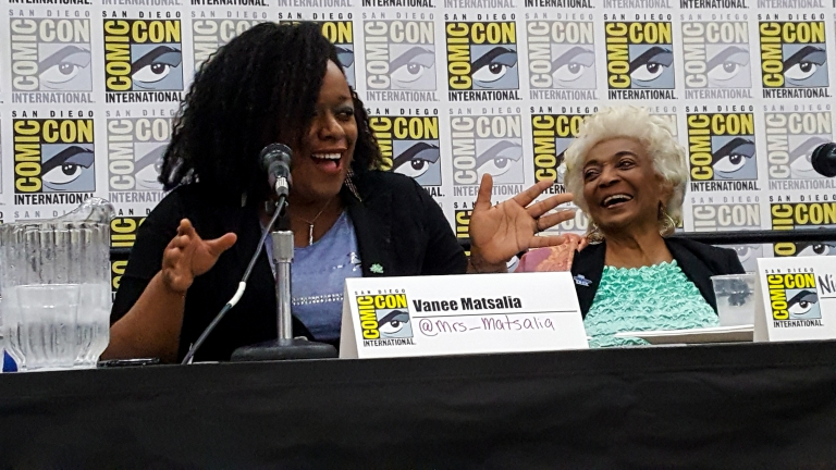 comic con superheores in real life vanee and nichelle