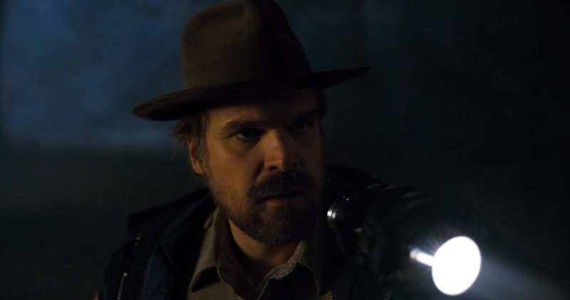 david harbour from stranger things season 2