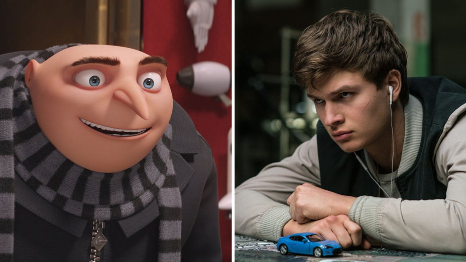 despicable me and baby driver rule july 4th weekend