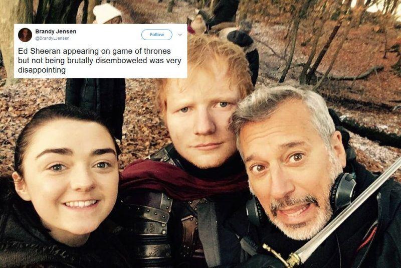 ed sheeran denies game of throne led him to delete twitter