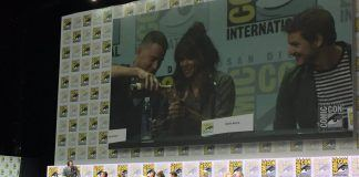 halle berry whiskey time for comic con kingsman golden circle