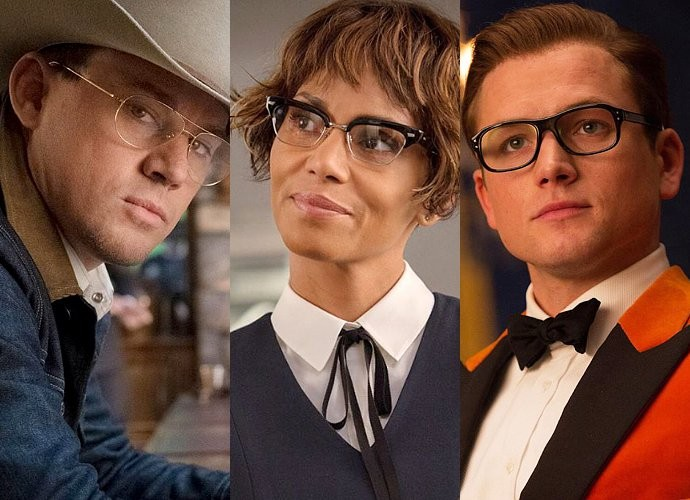 kingsman golden circle halle berry channing tatum comic con 2017