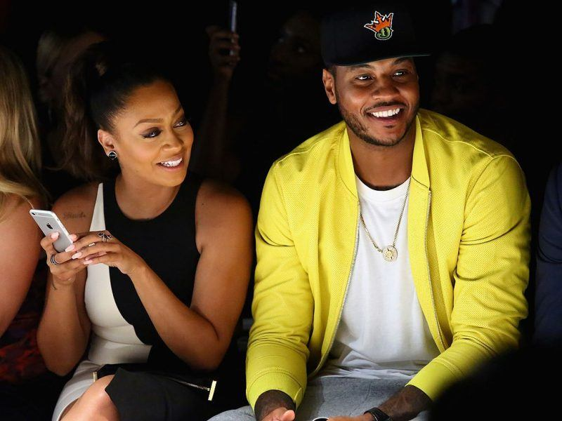 lala still friends with carmelo anthony 2017 images