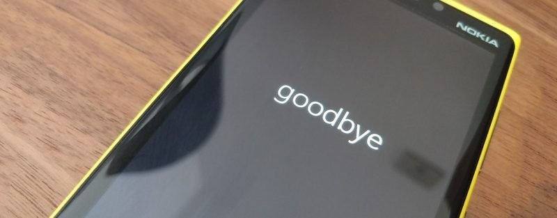 microsoft windows phone dead 2017