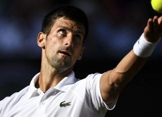 novak djokovic overcomes shoulder injury for wimbledon win