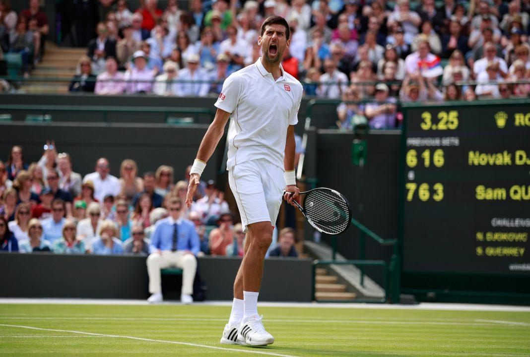 novak djokovic which version for wimbledon 2017