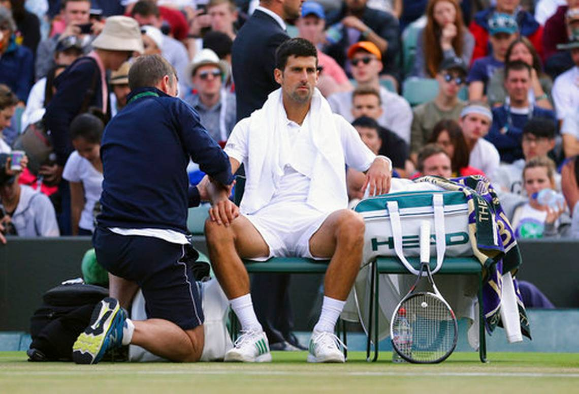 Djokovic vents fury over state of court and postponement