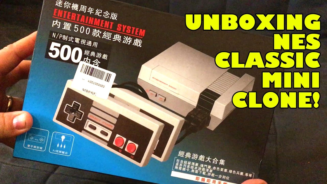 Send in the NES Classic Edition Clones | Movie TV Tech Geeks
