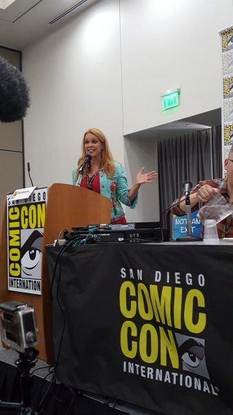 star trek chase masterson superhero comic con panel