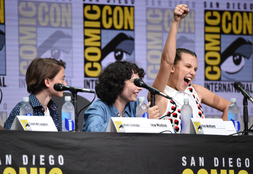 stranger things comic con panel
