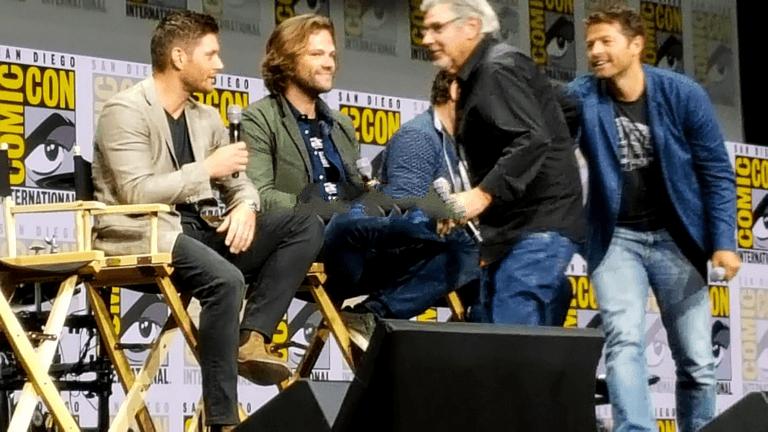 Supernatural Jared Padalecki Jensen Ackles Comic Con 2017 1100x733