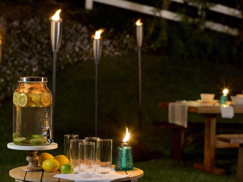 tiki citronella torches