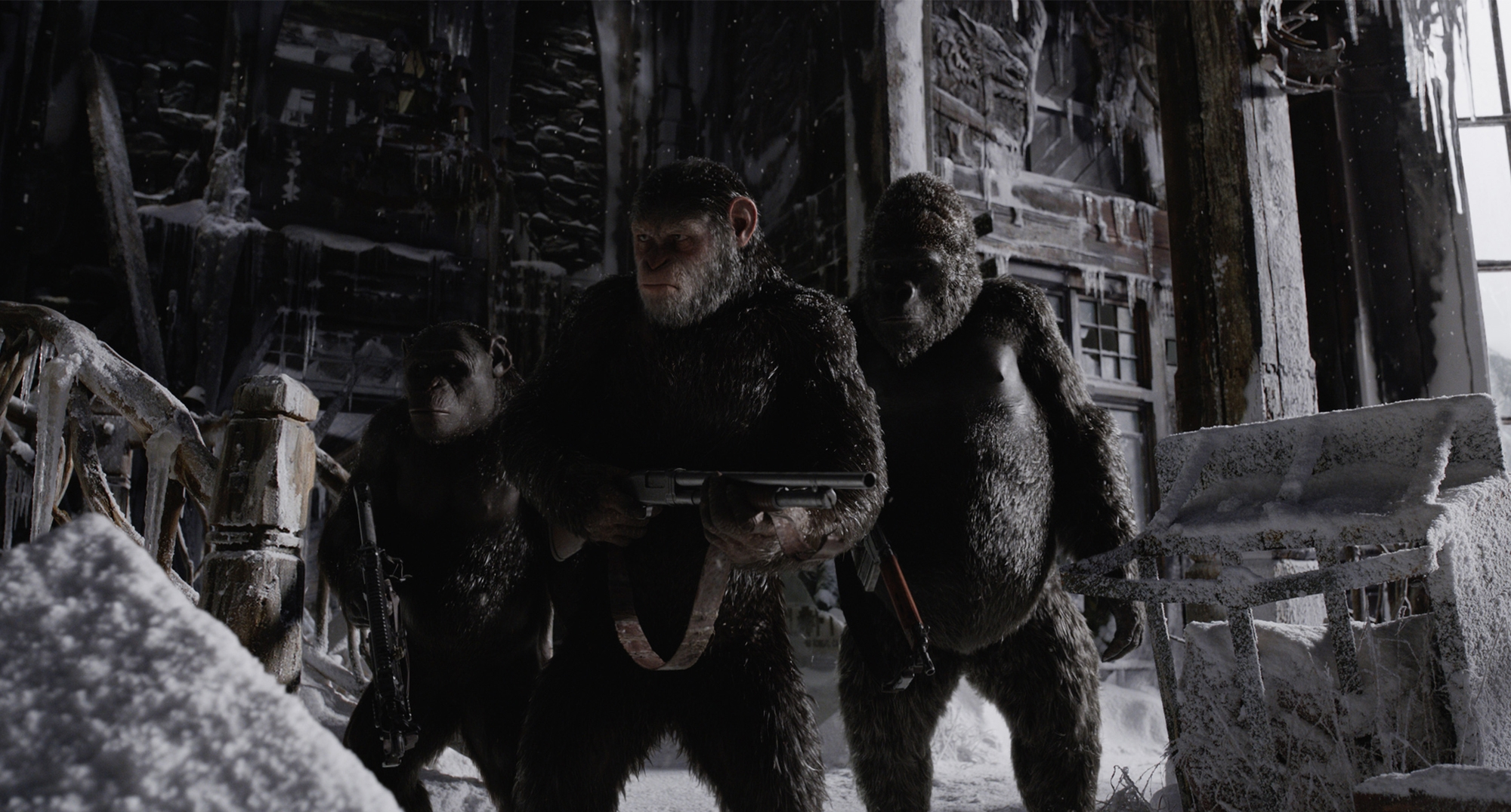 'War for the Planet of the Apes' at Palau Balaña Multicines, Barcelona