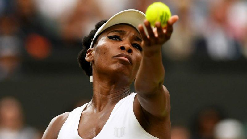 wimbledon odds favor venus williams