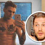 aaron carter hot for tom hardy date