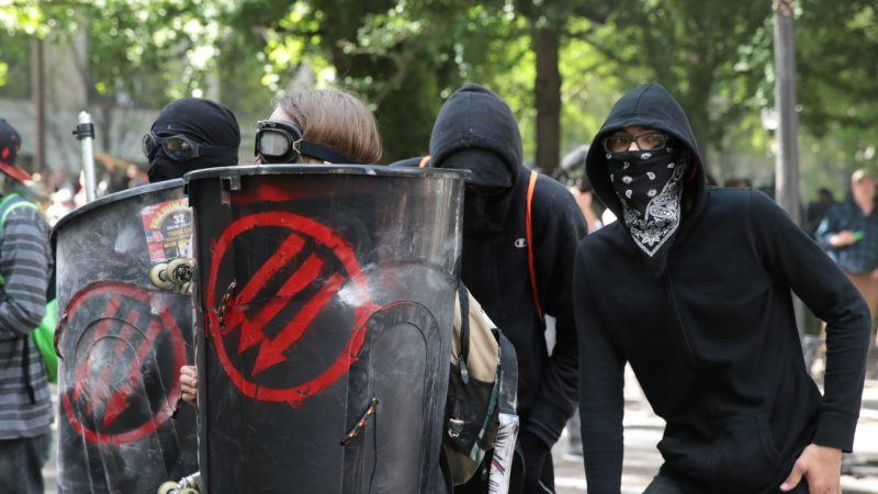antifa anti fascist group hated by donald trump