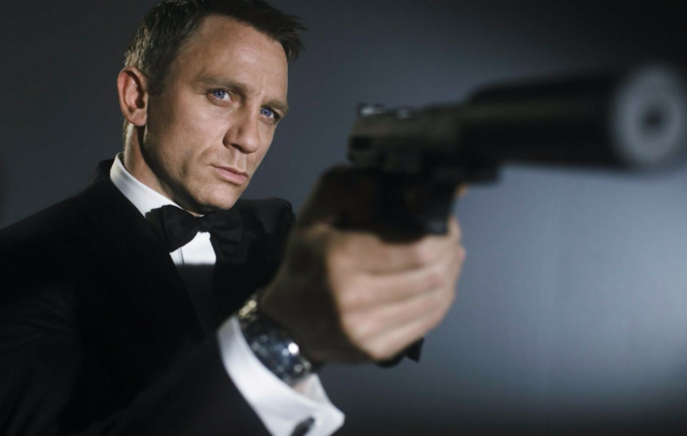 Daniel Craig confirms that he will be the next James Bond