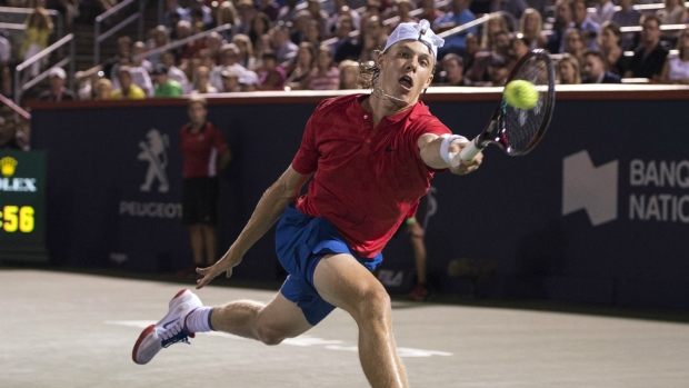 denis shapovalov knocks rafael nadal from rogers cup