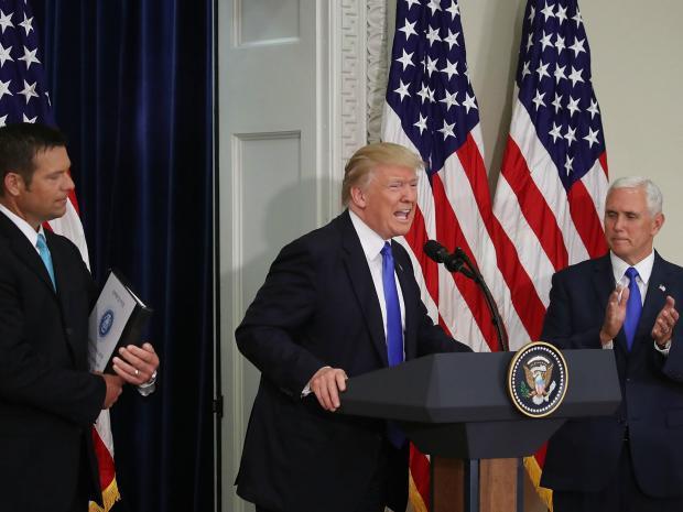 republicans keeping quiest on donald trump 2017