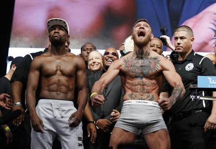 Conor McGregor getting plenty of @UFC respect for taking on Floyd Mayweather #MMANews
