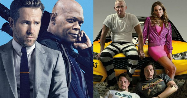 hitman vs logan lucky winner box office
