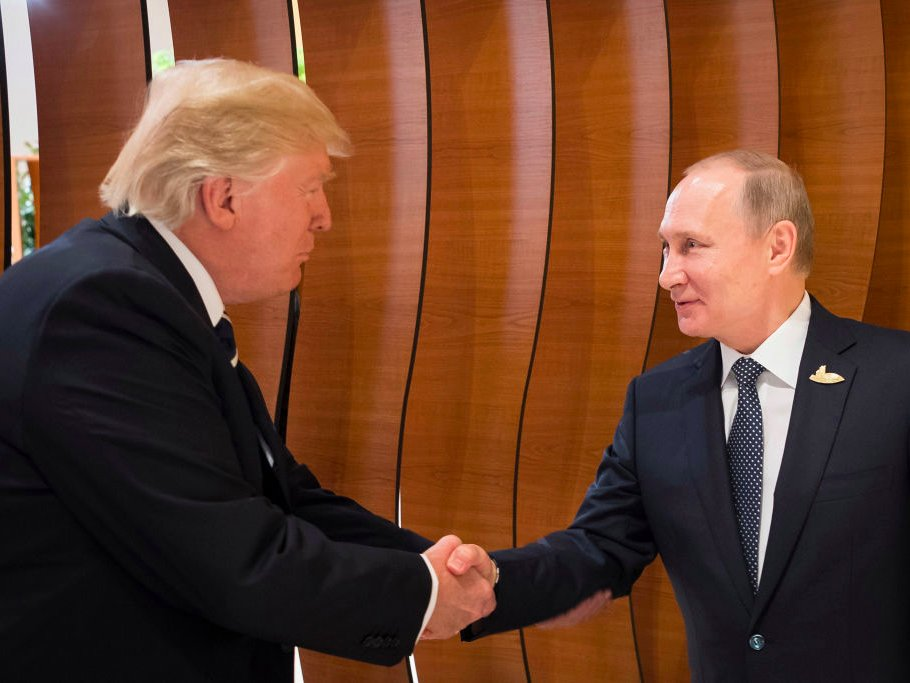 vladimir putin now more trustworthy than donald trump 2017 images