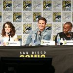 main cast of timeless comic con 2017