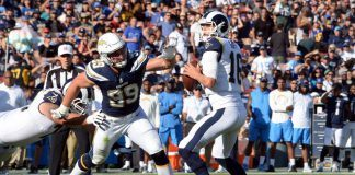 nfl news chargers beats rams texands movie inland to dallas from harvey
