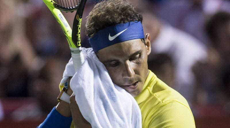 Rafael Nadal loses to denis shapovalov at rogers cup 2017