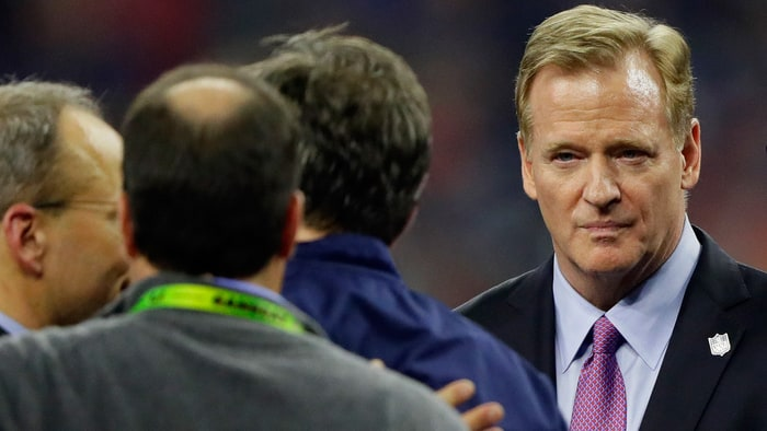 roger goodell good through 2024 with nfl 2017 images