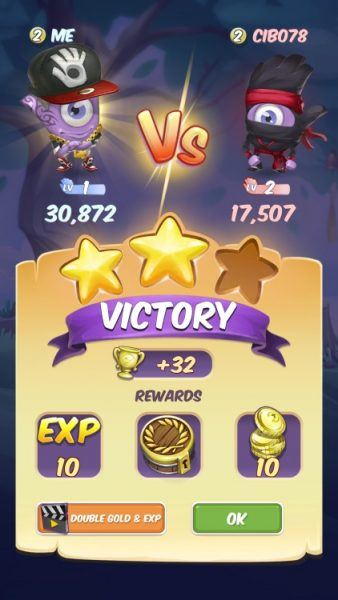 spot it duel victory shots