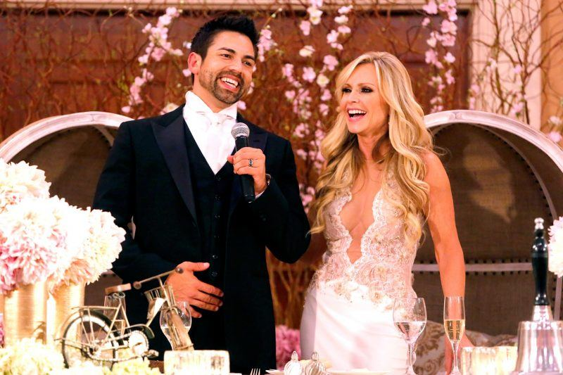 tamra eddie judge renew wedding vows