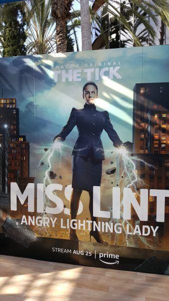 the tick miss lint comic con movie tv tech geeks
