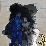 the tick wall for movie tv tech geeks