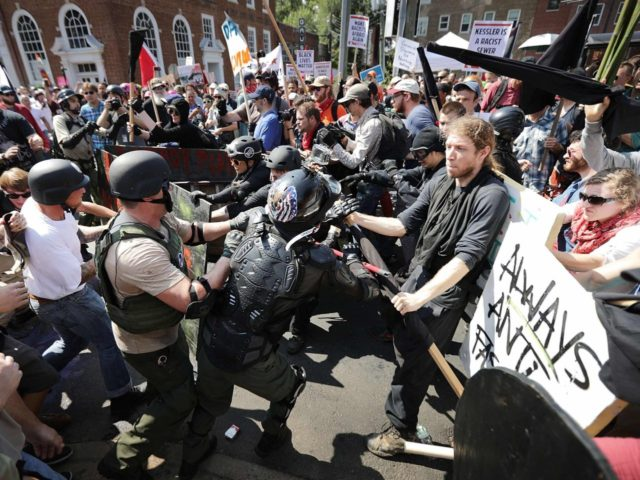 white nationalist violence in charlottesville