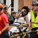 women hurt in charlottesville car driver
