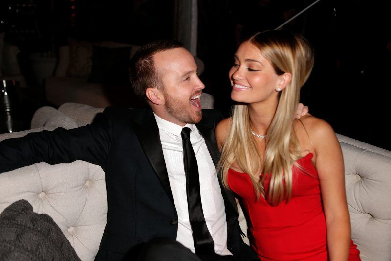 aaron paul having first baby