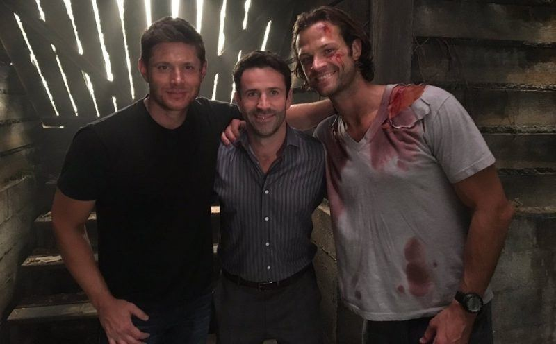 adam fergus fighint supernatural winchesters jared padalecki