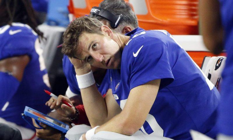 eli manning keep brave face after ny giants loss 2017