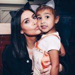 kim kardashian repurposes clothes for north west gossip