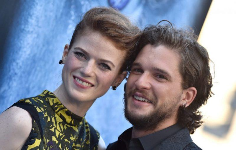 kit harington engaged to rose leslie game of thrones